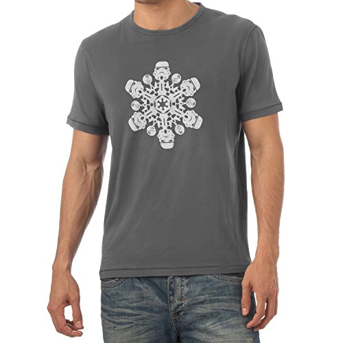 TEXLAB - Trooper Flakes - Herren T-Shirt Grau