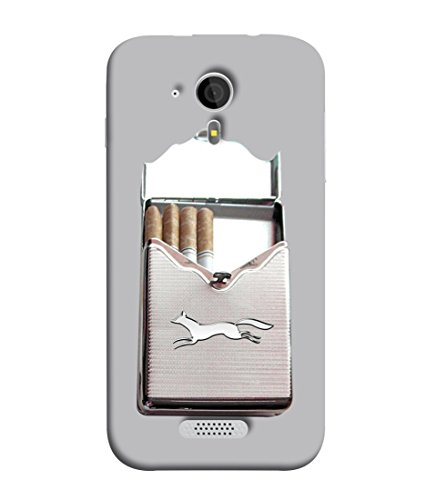 PrintVisa Designer Back Case Cover for Micromax Canvas HD A116 :: Micromax A116 Canvas HD (Nickotine Cigarette)  available at amazon for Rs.345