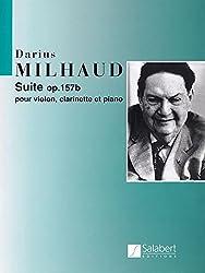 Milhaud: Suite Op.157b (Clarinet, Violin & Piano)