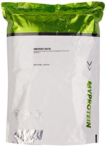 Vanille Haferflocken (Myprotein Instant Oats Vanilla, 1er Pack  1 x 2500 g)