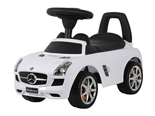Bobby Car Mercedes SLS AMG mit Sound in weiß