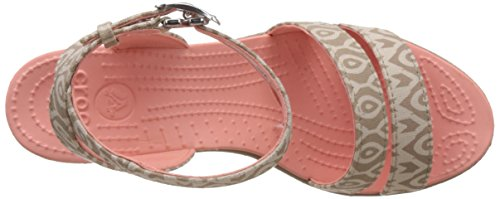 Stucco Wedge Leigh Crocs grafica saffico tumbleweed SfIB4n