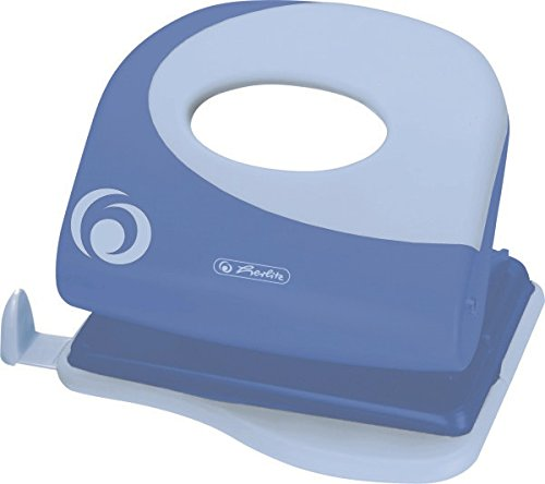 Herlitz 50015825 Bürolocher 2.0 mm Ergonomie, baltic blue