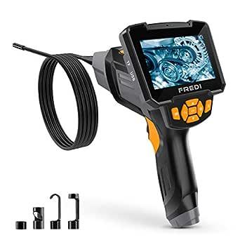 Endoskopkamera Digital Inspektionskamera 5 M Hand Endoskop Kamera Wasserdicht 4 3 Zoll Lcd Bildschirm 1080p Hd Boreskop Video Kamera Für Lüftungsrohr Maschinenausrüstung Gewerbe Industrie Wissenschaft