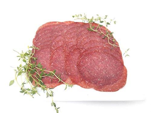 Schlemmermeyer Edelsalami im Naturdarm, in Scheiben geschnitten, 120 g