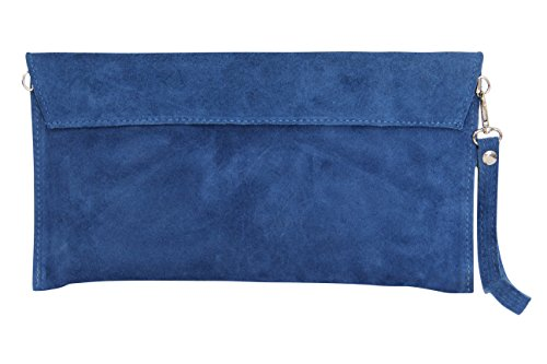 AMBRA Moda - Sacchetto Donna Blu jeans