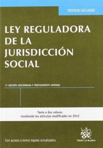 Ley reguladora de la jurisdiccion social (3ª ed.) (Textos Legales)