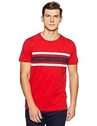 Tommy Hilfiger Men's Printed Regular Fit T-Shirt