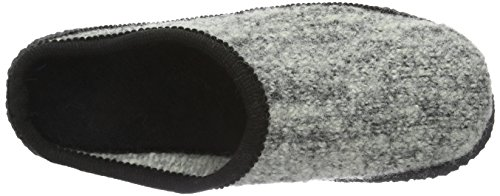Beck Home, Chaussons mixte adulte Gris - Grau (24)