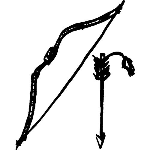 Azeeda A7 'Bogenpfeil' Stempel (Unmontiert) (RS00003153)