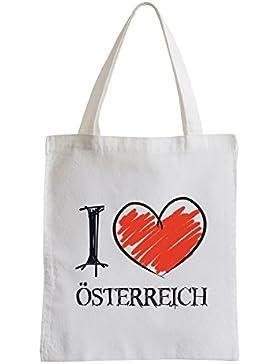 I love Österreich Fun Jutebeutel