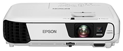 Epson EB-W31 LCD Projektor (HD-Ready, WXGA 1280 x 800 Pixel, 3.200 Lumen, 15.000:1 Kontrast)