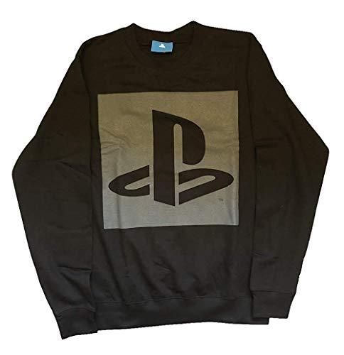 Playstation - Logo - Offiziell Herren Sweatshirt (Pulli) - Schwarz, M