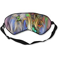 Sleep Eye Mask Butterfly Wings Beauty Lightweight Soft Blindfold Adjustable Head Strap Eyeshade Travel Eyepatch preisvergleich bei billige-tabletten.eu