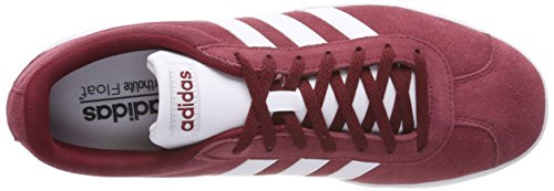 adidas VL Court 2.0, Scarpe da Ginnastica Uomo Multicolore (Collegiate Burgundy/Ftwr White/Core Black)