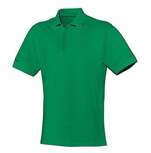 JAKO Polo Team, Größe:6XL, Farbe:sportgrün - Team Farbe Piqué Polo
