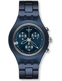 Swatch Herren-Armbanduhr Full-Blooded Smoky Blue SVCN4004AG
