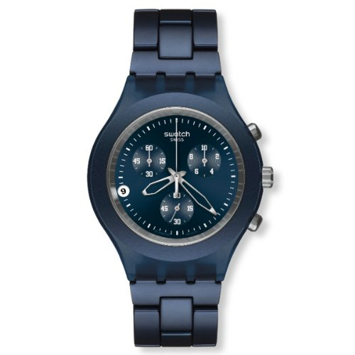 Swatch Herren-Armbanduhr Full-Blooded Smoky Blue SVCN4004AG