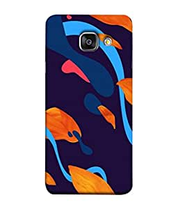 Snapdilla Designer Back Case Cover for Samsung Galaxy A5 (6) 2016 :: Samsung Galaxy A5 2016 Duos :: Samsung Galaxy A5 2016 A510F A510M A510Fd A5100 A510Y :: Samsung Galaxy A5 A510 2016 Edition (Texture Illustration Theme White Backcase Pouch )
