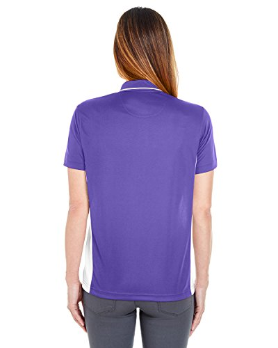 UltraClub - Polo - Femme Purple/ White