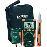 EXTECH MN16A-KIT Hand-Multimeter Digital Kalibriert Nach: Werksstandard (Ohne Zertifikat) Cat II 100