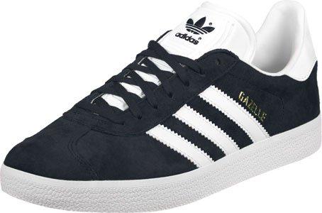 adidas Unisex-Kinder Gazelle Sneakers Blau (Collegiate Navy/footwear White/footwear White) ReXj4hzyl