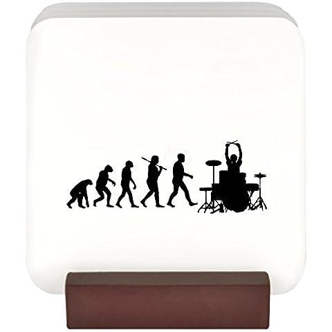 Evolution of a tamburo, Set di 4 sottobicchieri con supporto - Joey Jordison Drum Set