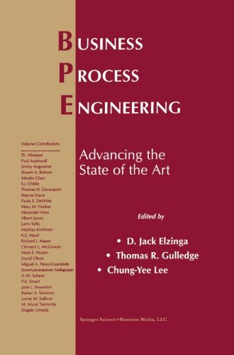 Business Process Engineering: Advancing the State of the Art