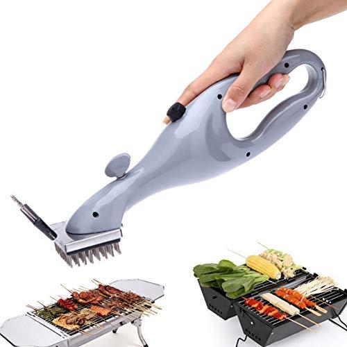ZDYLM-Y Dampf Reiniger BBQ Grillbürste Stark Grillbürste Reinigungsbürste Drahtbürste, Leicht zu reinigen Geeignet für alle Grillarten, Ideales Grillzubehör -