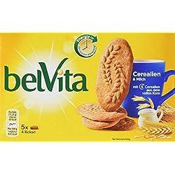 belVita Frühstück Kekse Cerealien & Milch - 24 Frühstückskekse mit Cerealien und Milch - 10 x 225g