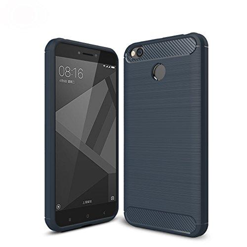 WindTeco Xiaomi Redmi 4X Hülle - Premium Ultra Slim Leicht weiches TPU Protector Phone Case Handy Schutzhülle Schale Bumper für Xiaomi Redmi 4X