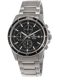 Casio Edifice Chronograph Black Dial Men's Watch - EFR-526D-1AVUDF (EX093)