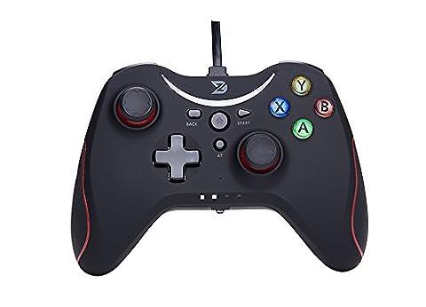 ZD T USB wired Gamepad Controller Gamecontroller Joystick für PC (Windows XP/7/8/8.1/10) & PlayStation 3 & Android&Steam - Die Xbox 360 / One nicht (360 Wired Controller)