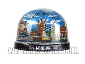 Snow Globes Grande boule à neige souvenir Tower Bridge de Londres