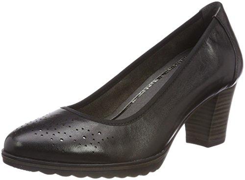 Tamaris 22435, Scarpe con Tacco Donna Nero (Black Leather)