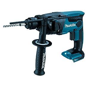 Makita DHR165RTJ Akku-Bohrhammer für SDS-PLUS 18 V / 5,0 Ah, 2 Akkus und Ladegerät im MAKPAC, 250 W, türkisschwarz, mit…