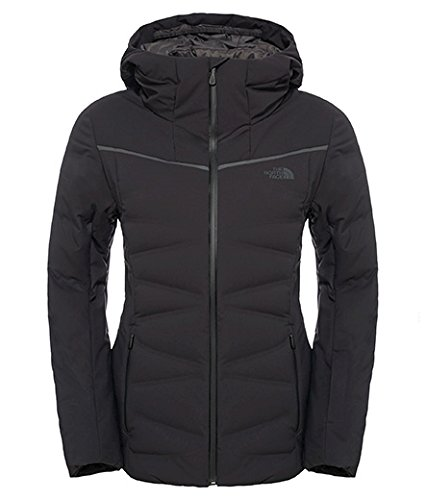 North Face W Charlanon Down Giacca, Nero/Tnf Black, M