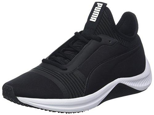 Puma Amp XT Wn's, Zapatillas de Deporte para Mujer, Negro Black White, 36 EU