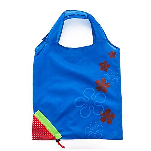 Tragbar Tasche Einkaufstasche für Organisation Einkaufstrolley wiederverwendbar Faltbare Einkaufstasche Box Tasche Umweltfreundlich Lebensmittels Tasche dunkelblau