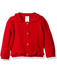 Gymboree Baby Girls' Red Cardigan Sweater
