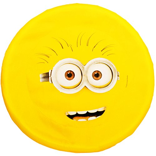 alles-meine.de GmbH 1 Stück _ große XL _ Wurfscheibe / Frisbee Scheibe -  Minions - ich einfach unverbesserlich  - Nylon Stoff - Ø 43,5 cm - Wurfdiskus / Diskus - Stoffwurfsche.. - Extra Große Frisbee