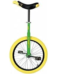 """Einrad Qu-Ax 1104 Luxus Monocycle avec roue en aluminium Vert 20"""""""