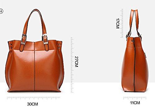 Keshi Cool Damen Handtaschen, Hobo-Bags, Schultertaschen, Beutel, Beuteltaschen, Trend-Bags, Velours, Veloursleder, Wildleder, Tasche Braun