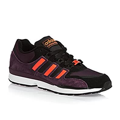 Adidas Originals Torsion Integral S Chaussures - Rich Rouge F14 / Infrarouge / Clair Maroon - Violet, 45 1/3