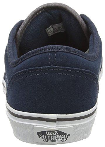 Vans Atwood, Scarpe da Ginnastica Basse Unisex – Bambini Blu (Varsity Navy/Gray)
