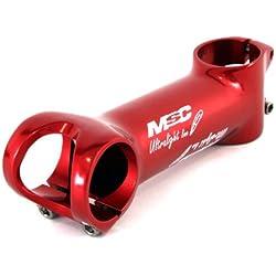 MSC Bikes MSC Ult.Line 31.8 mm 6º 80 mm - Potencia de ciclismo, color rojo anodizado