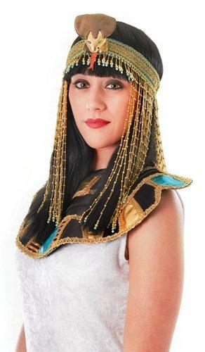 Cleopatra Ägyptische ASP Perlen Kopfbedeckung weiblich Fancy Kleid -