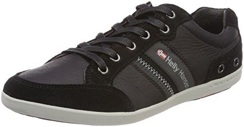 Helly Hansen Herren KORDEL LEATHER Sneakers, Schwarz (Black/Ebony/Red/Ash 990), 41 EU -