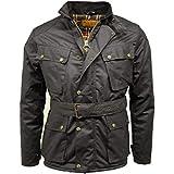 Game Herren Biker-Jacke / Motorrad-Jacke, Wachsjacke Gr. One size, schwarz