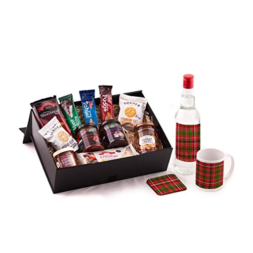 Vodka and Scottish Food Hamper. Birthday, Anniversary, Engagement, Easter, Mother's day, Father's day, Valentine's day, Wedding or Christmas gift idea